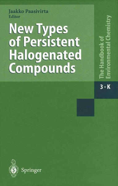 New Types of Persistent Halogenated Compounds - Coverbild