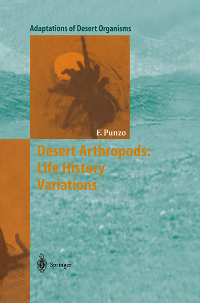 Desert Arthropods: Life History Variations - Coverbild