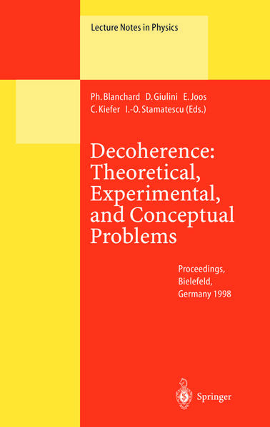 Decoherence: Theoretical, Experimental, and Conceptual Problems - Coverbild