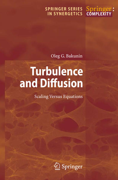 Turbulence and Diffusion - Coverbild