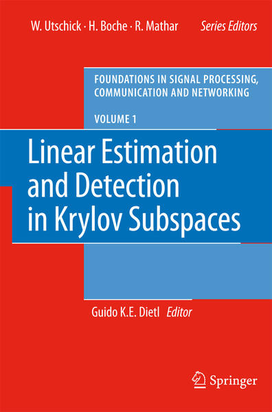 Linear Estimation and Detection in Krylov Subspaces - Coverbild