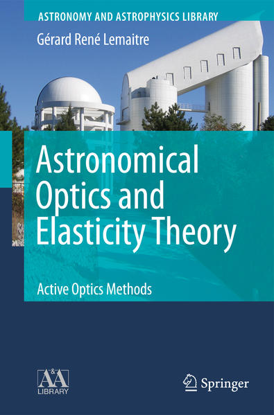 Astronomical Optics and Elasticity Theory - Coverbild