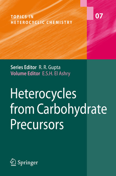 Heterocycles from Carbohydrate Precursors - Coverbild