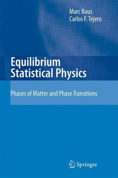 Equilibrium Statistical Physics - Coverbild