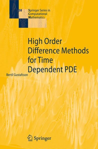 High Order Difference Methods for Time Dependent PDE - Coverbild