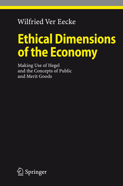 Ethical Dimensions of the Economy - Coverbild