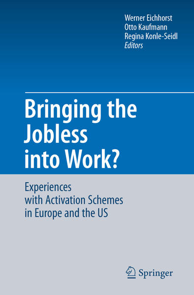 Bringing the Jobless into Work? - Coverbild