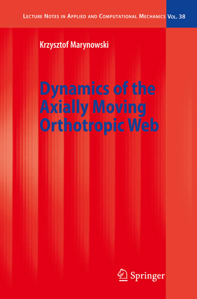 Dynamics of the Axially Moving Orthotropic Web - Coverbild