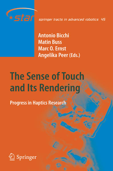 The Sense of Touch and Its Rendering - Coverbild