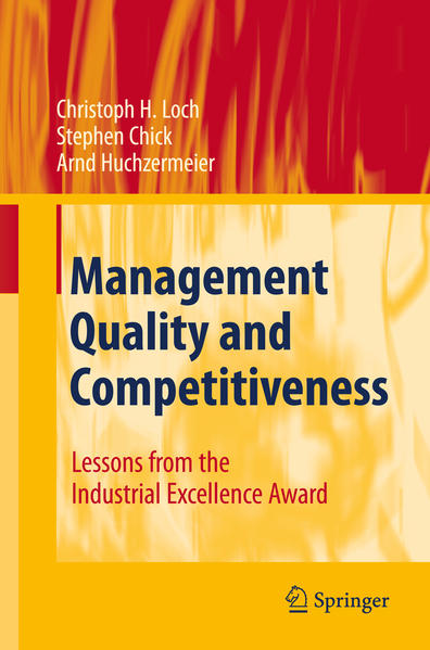 Management Quality and Competitiveness - Coverbild