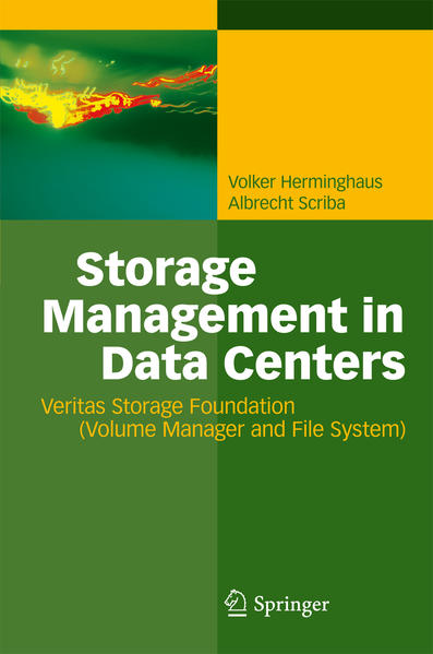 Storage Management in Data Centers - Coverbild