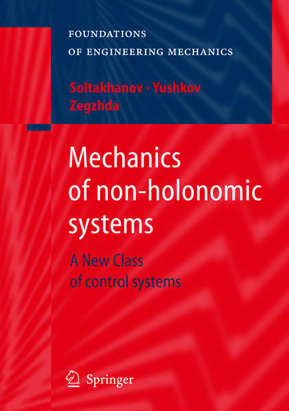 Mechanics of non-holonomic systems - Coverbild