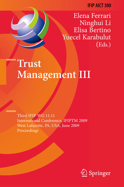 Trust Management III - Coverbild