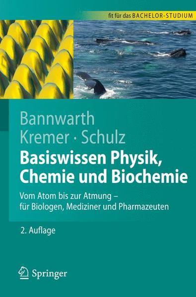 Basiswissen Physik, Chemie und Biochemie - Coverbild