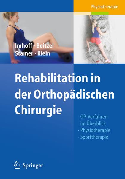 Rehabilitation in der Orthopädischen Chirurgie - Coverbild