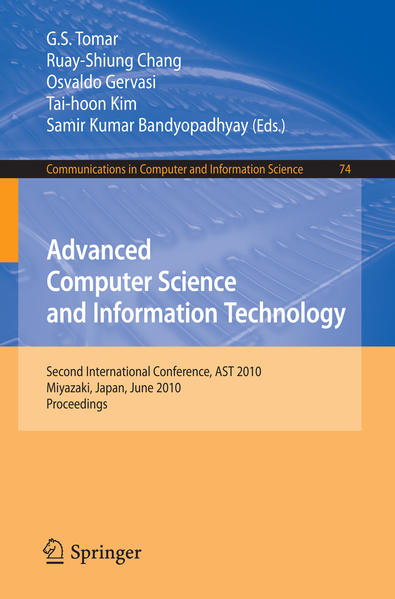 Advanced Computer Science and Information Technology - Coverbild