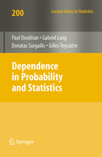 Dependence in Probability and Statistics - Coverbild