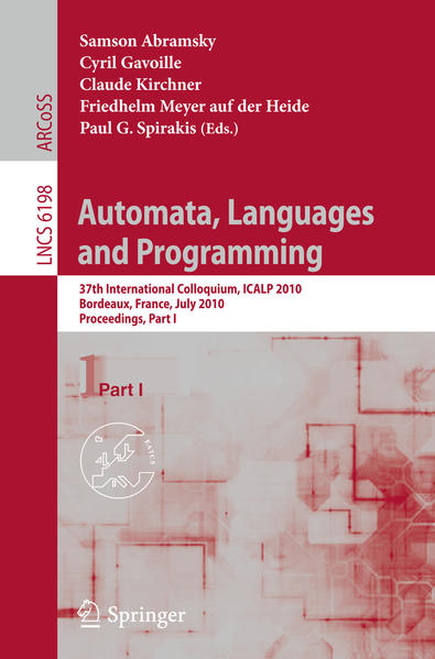 Automata, Languages and Programming - Coverbild