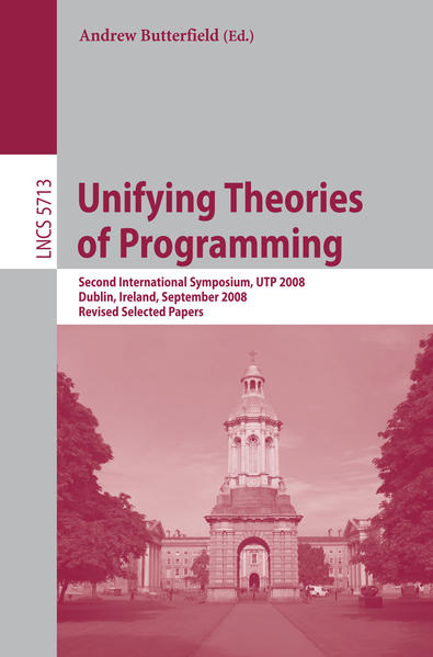 Unifying Theories of Programming - Coverbild