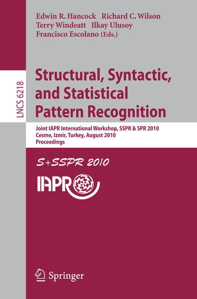 Structural, Syntactic, and Statistical Pattern Recognition - Coverbild