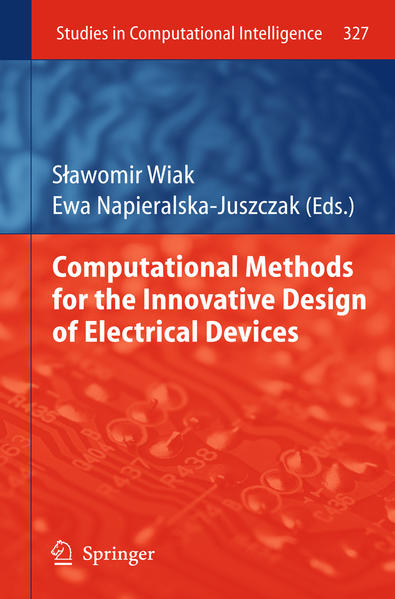 Computational Methods for the Innovative Design of Electrical Devices - Coverbild