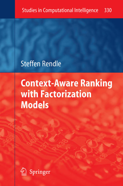 Context-Aware Ranking with Factorization Models - Coverbild