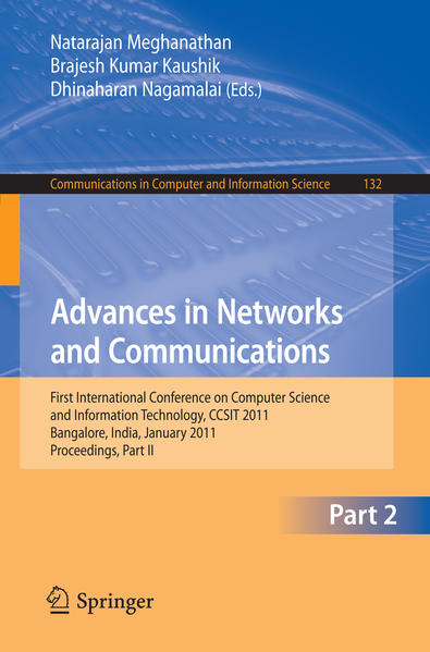 Advances in Networks and Communications - Coverbild