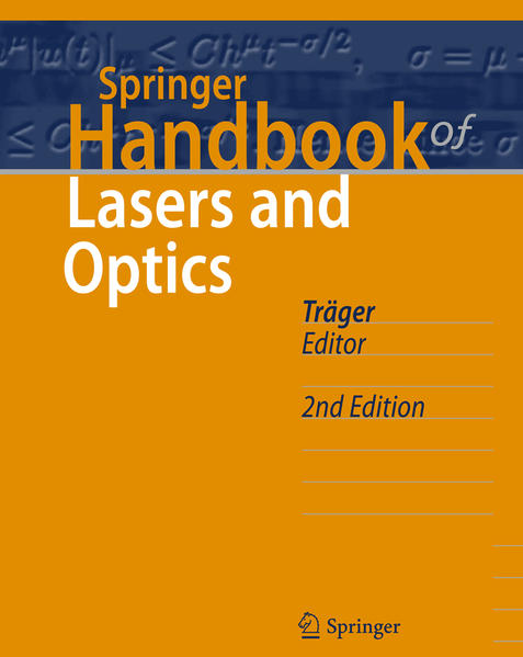 Springer Handbook of Lasers and Optics - Coverbild