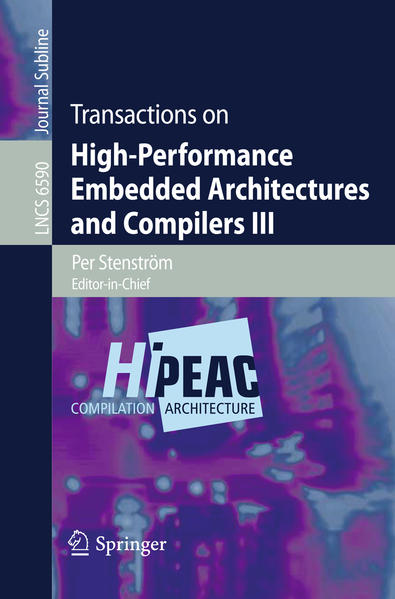 Transactions on High-Performance Embedded Architectures and Compilers III - Coverbild