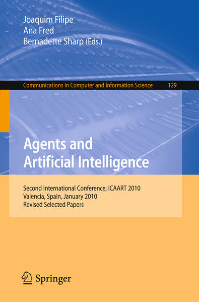 Agents and Artificial Intelligence - Coverbild