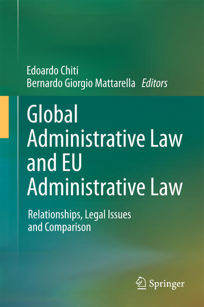 Global Administrative Law and EU Administrative Law - Coverbild