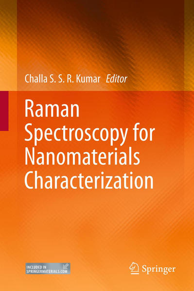 Raman Spectroscopy for Nanomaterials Characterization - Coverbild
