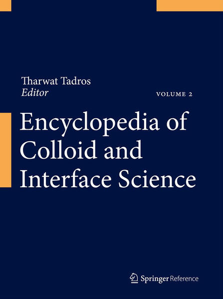 Encyclopedia of Colloid and Interface Science - Coverbild