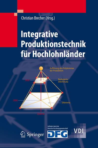 Integrative Produktionstechnik für Hochlohnländer - Coverbild