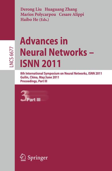 Advances in Neural Networks -- ISNN 2011 - Coverbild