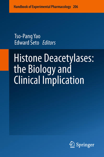 Histone Deacetylases: the Biology and Clinical Implication - Coverbild