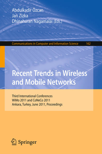Recent Trends in Wireless and Mobile Networks - Coverbild