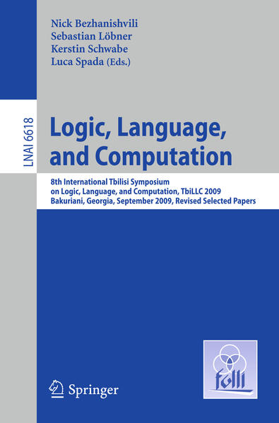 Logic, Language, and Computation - Coverbild