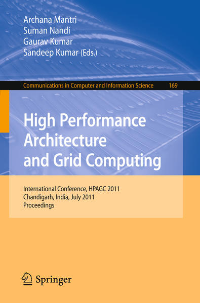 High Performance Architecture and Grid Computing - Coverbild