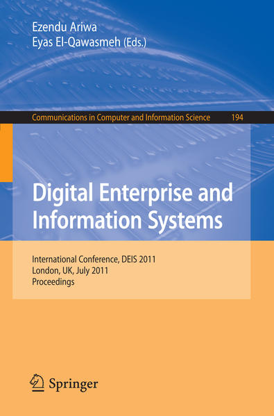 Digital Enterprise and Information Systems - Coverbild