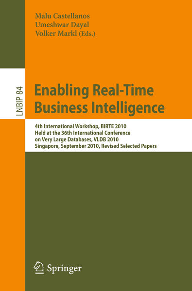 Enabling Real-Time Business Intelligence - Coverbild