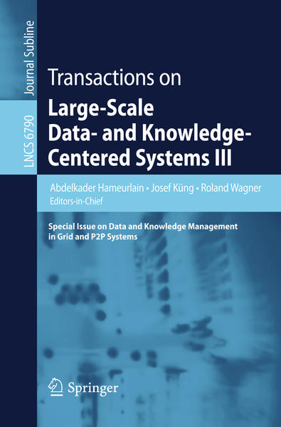 Transactions on Large-Scale Data- and Knowledge-Centered Systems III - Coverbild