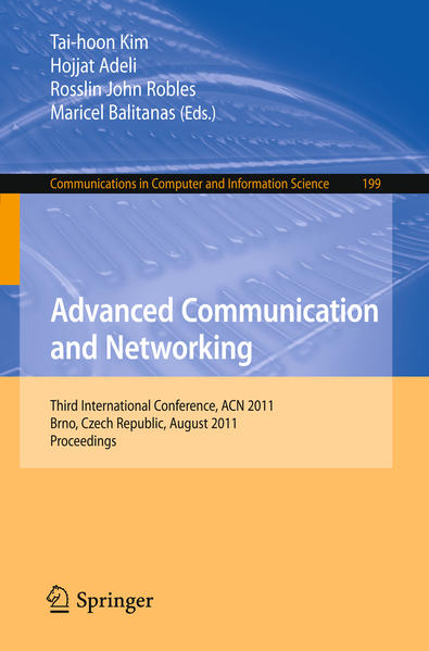 Advanced Communication and Networking - Coverbild