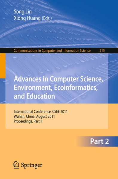 Advances in Computer Science, Environment, Ecoinformatics, and Education, Part II - Coverbild