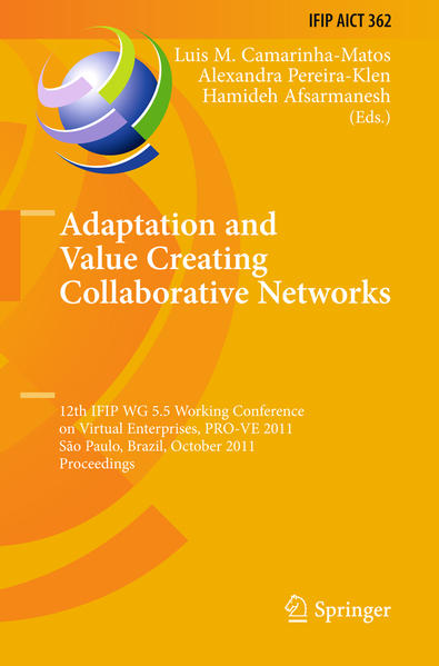 Adaptation and Value Creating Collaborative Networks - Coverbild