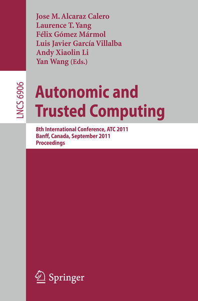 Autonomic and Trusted Computing - Coverbild
