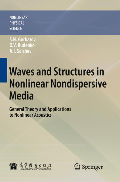 Waves and Structures in Nonlinear Nondispersive Media - Coverbild