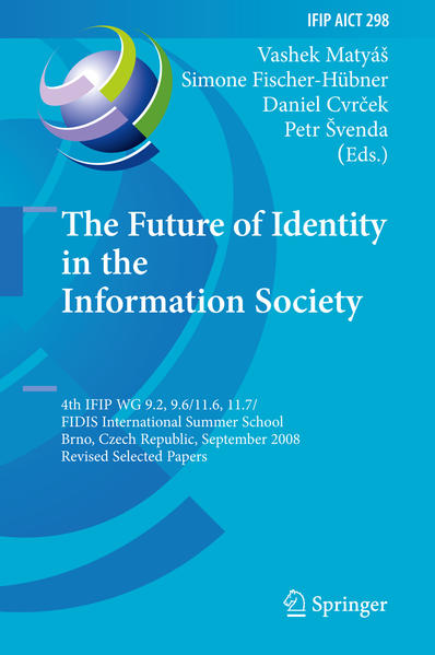 The Future of Identity in the Information Society - Coverbild