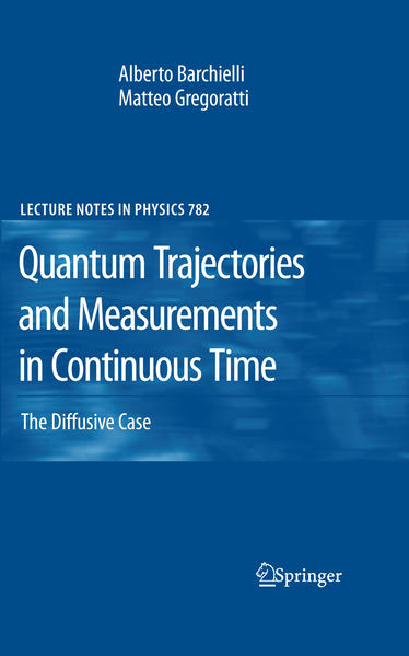 Quantum Trajectories and Measurements in Continuous Time - Coverbild