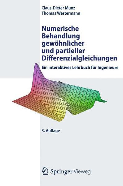 Numerische Behandlung gewöhnlicher und partieller Differenzialgleichungen - Coverbild